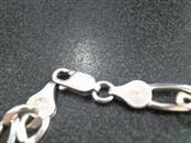 """20"""" Silver Figaro Chain 925 Silver 11.7dwt"""